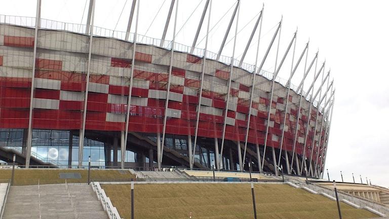 Polen laddar inför fotbolls - EM - Studio Ett  5896bec17113e