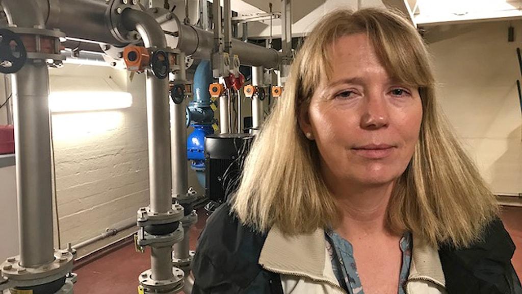 Ann-Katrin Pedersen, sektionschef på Hofor som ansvarar för vattenförsörjningen i Köpenhamn.