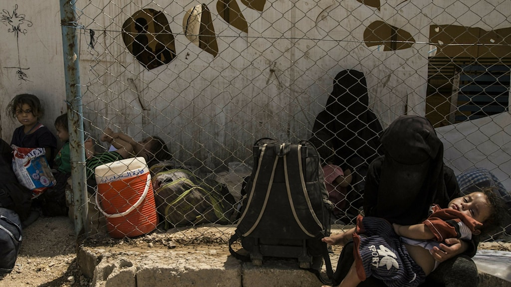 Syria Islamic State Camp