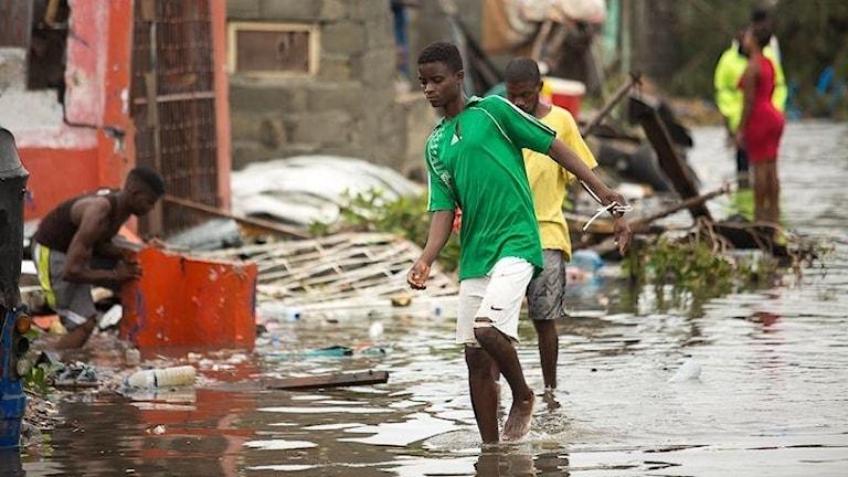Cyklonen i Moçambique