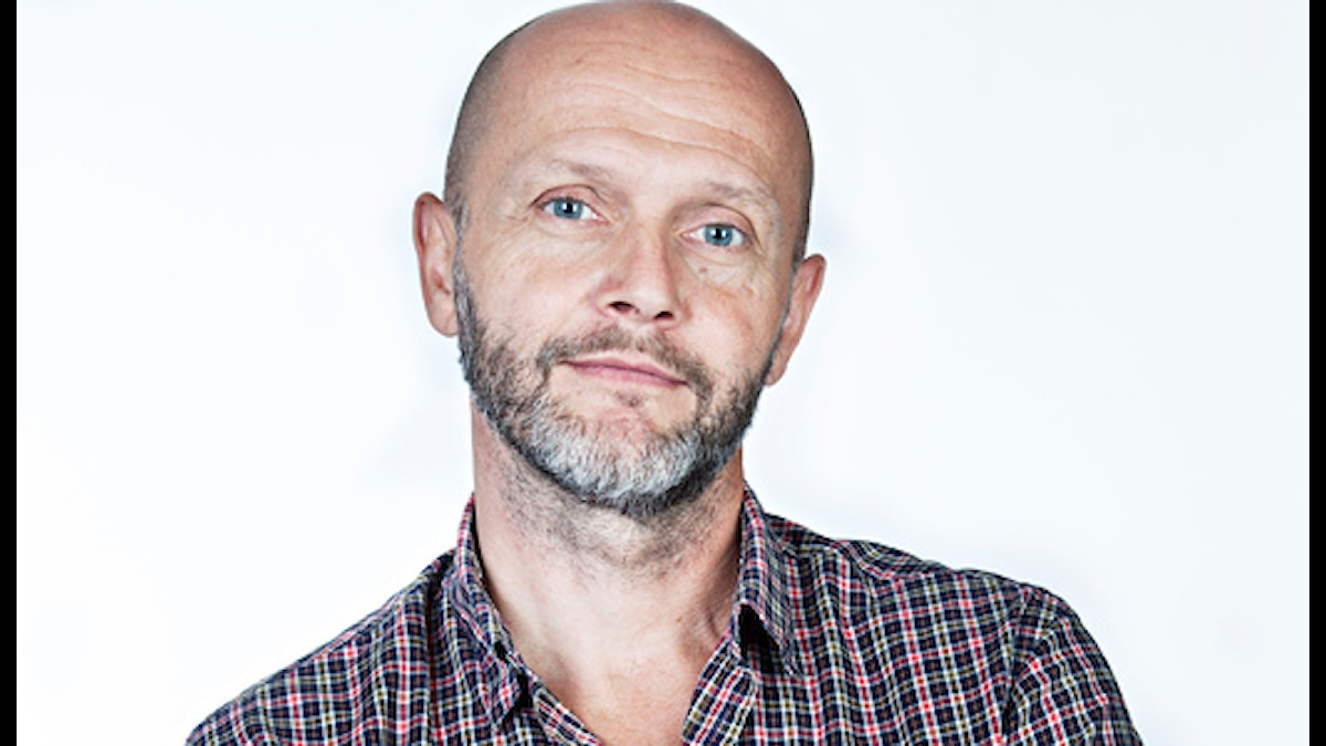 Lasse Johansson. Foto: Micke Grönberg/Sveriges Radio.