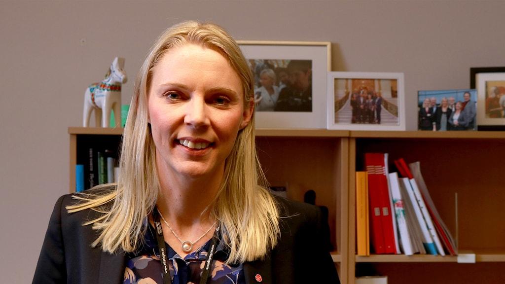 Åsa Westlund.