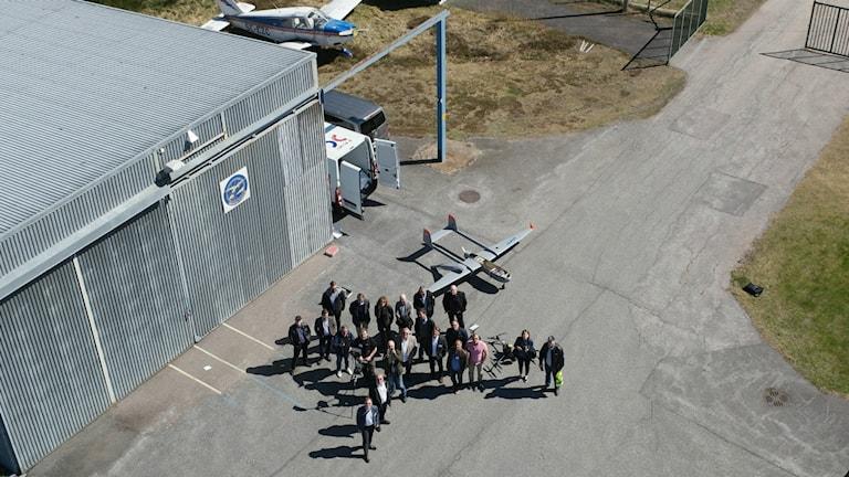 Västervik blir centrum för Sveriges första testområde för drönare. Foto: Per Nilsson, Nilsson Drones