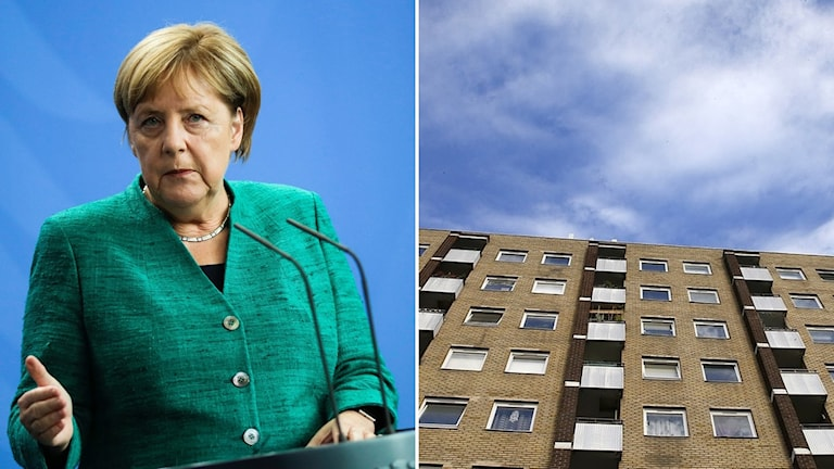 Angela Merkel, hyresbostad