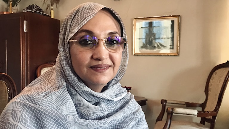 Aminatou Haidar från Västsahara, en av årets Right Livelihood-pristagare.