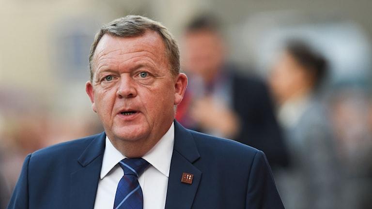 Denmark's Prime Minister Lars Lokke Rasmussen