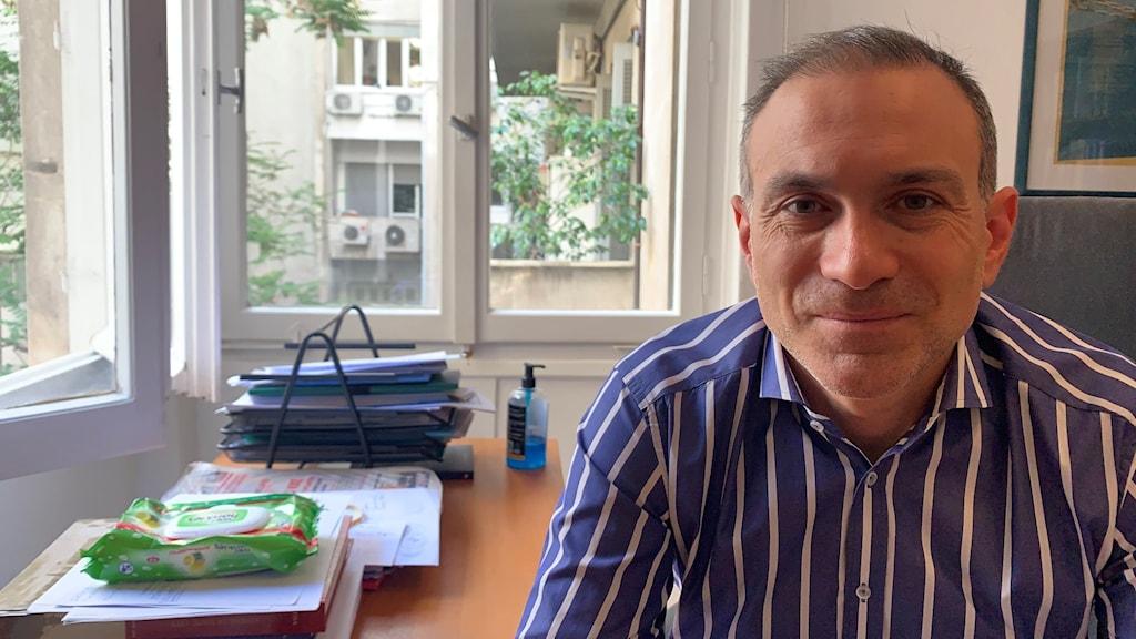 Constantinos Filis: Turkiet i fokus för oss i Aten.