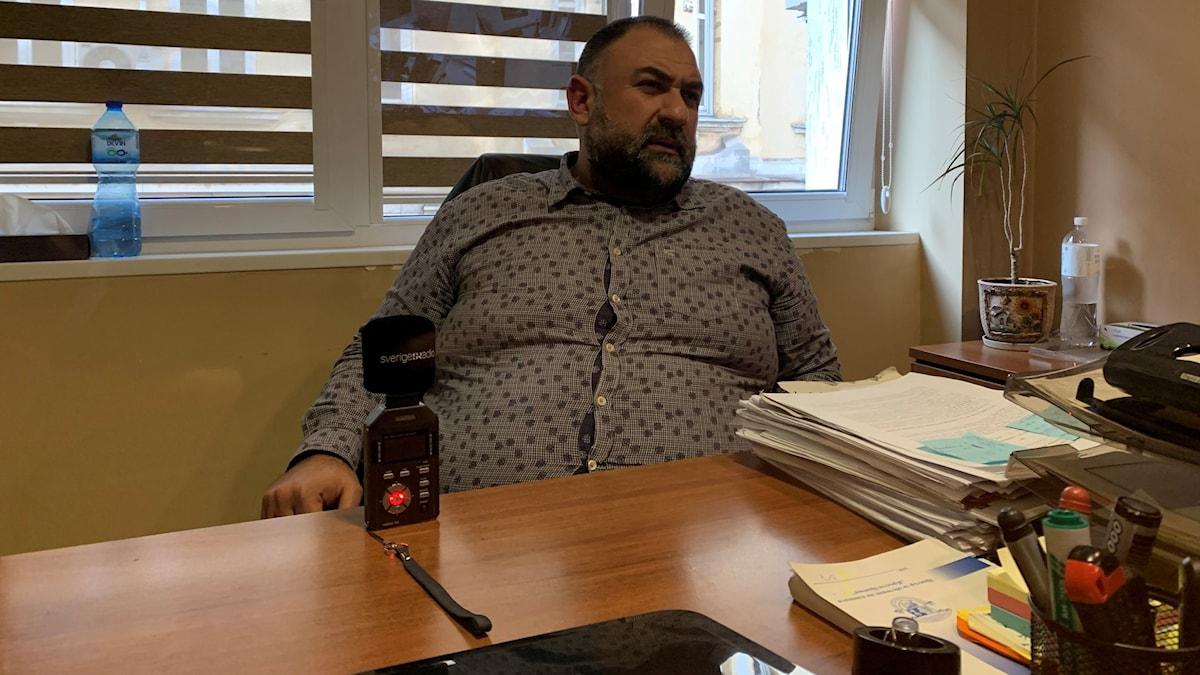 Dimitar Markowski var Abdullah Buyuks försvarare under rättegångarna 2016