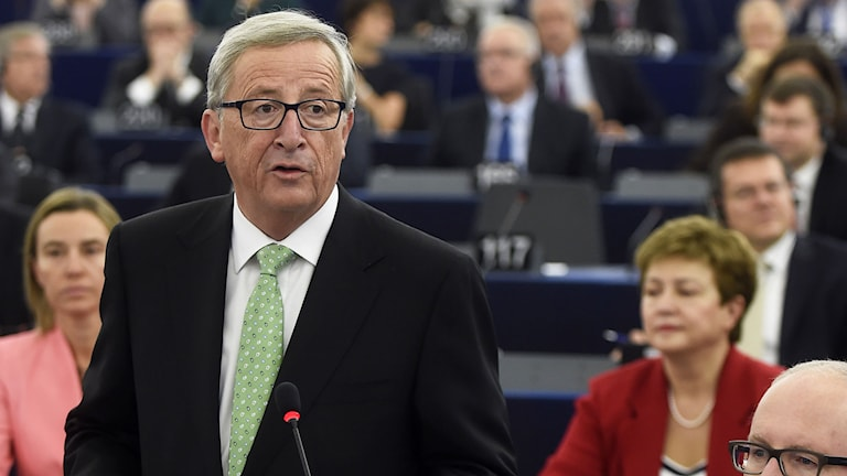 Jean Claude Juncker. Foto: AP Photo/Christian Lutz/TT