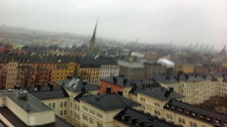 Hur låter staden? Foto: Anton Karis/Sveriges Radio.