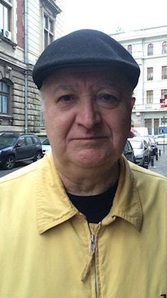 Översten Mirsej Ionesco säger att Ceausescus fall var en glädjedag. Foto: Alice Petrén/Sveriges Radio