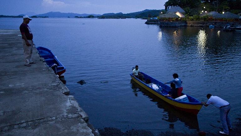 Kinesiska storplaner på kanalbygge i Nicaragua. Foto: TT