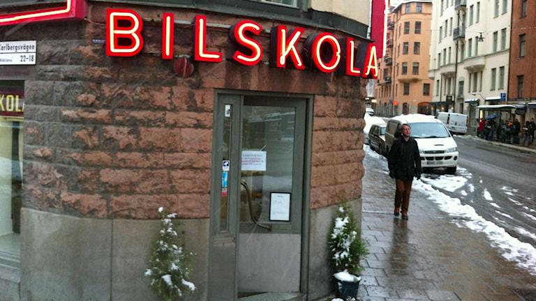 Allt fler kuggas när de ska köra upp. Foto: Anders Diamant/Sveriges Radio.