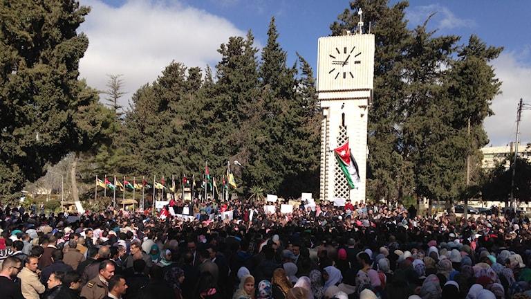 University of Jordans campus. Foto: Susan Ritzén