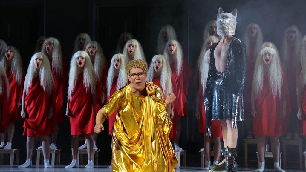Estländsk politisk teater. Foto: Ene-Liis Semper