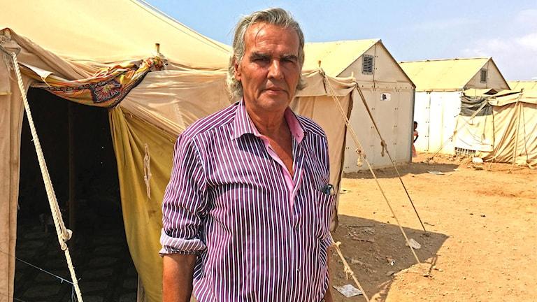 – Jag har förlorat allt, säger Ali Shafik Aman.