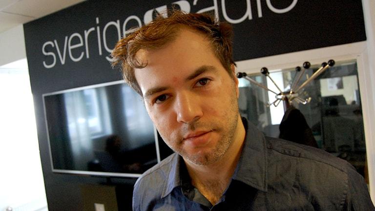 Tino Sanandaji, nationalekonom, debattör och författare. Foto: Evalisa Wallin/Sveriges Radio.