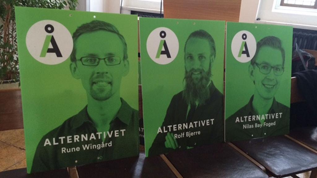 Partiet har över 70 kandidater som ställer upp i valet. Foto: Anna Landelius/Sveriges Radio