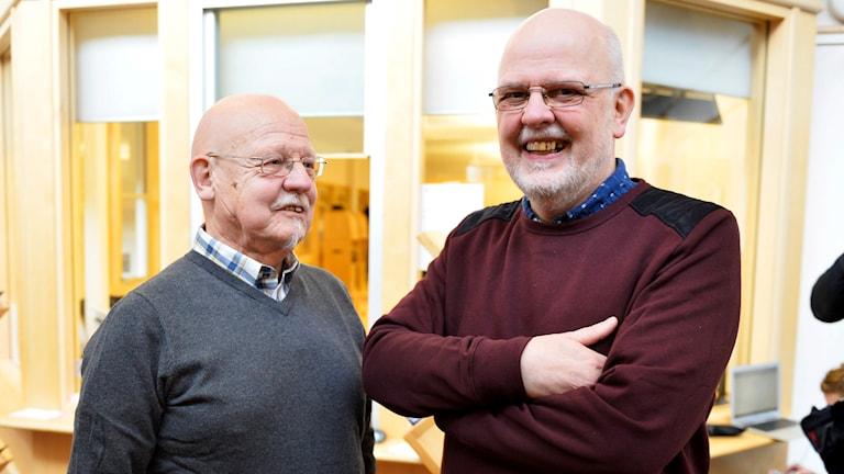 Sten-Ove Bergwall och Sture Bergwall. Foto: Henrik Montgomery/TT.