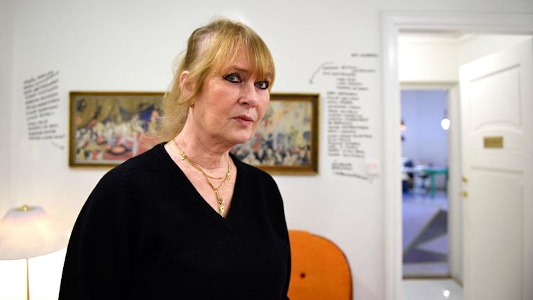 Marie-Louise Ekman. Foto: Anders Wiklund/TT