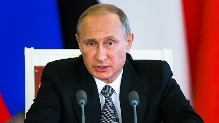 President Vladimir Putin. Foto: AP Photo/Alexander Zemlianichenko/TT