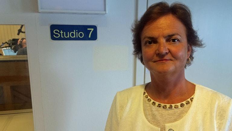 Lilla Makkoy Ungerns ambassadör i Sverige. Foto: Marcus Eriksson/Sveriges Radio.
