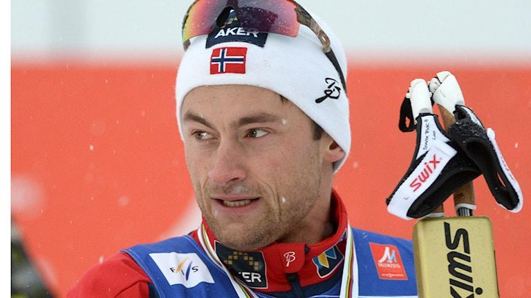 Norske skidstjärnan Petter Northug Foto: TT