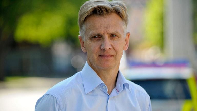 Migrationsverkets generaldirektör Anders Danielsson. Foto: Leif R Jansson /TT.