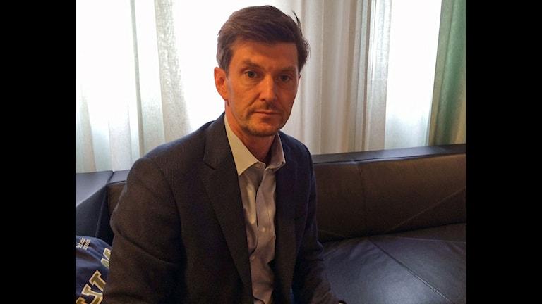 Paul Levin, institutet för Turkietstudier vid Stockholms universitet. Foto: Helena Ulander/Sveriges Radio.