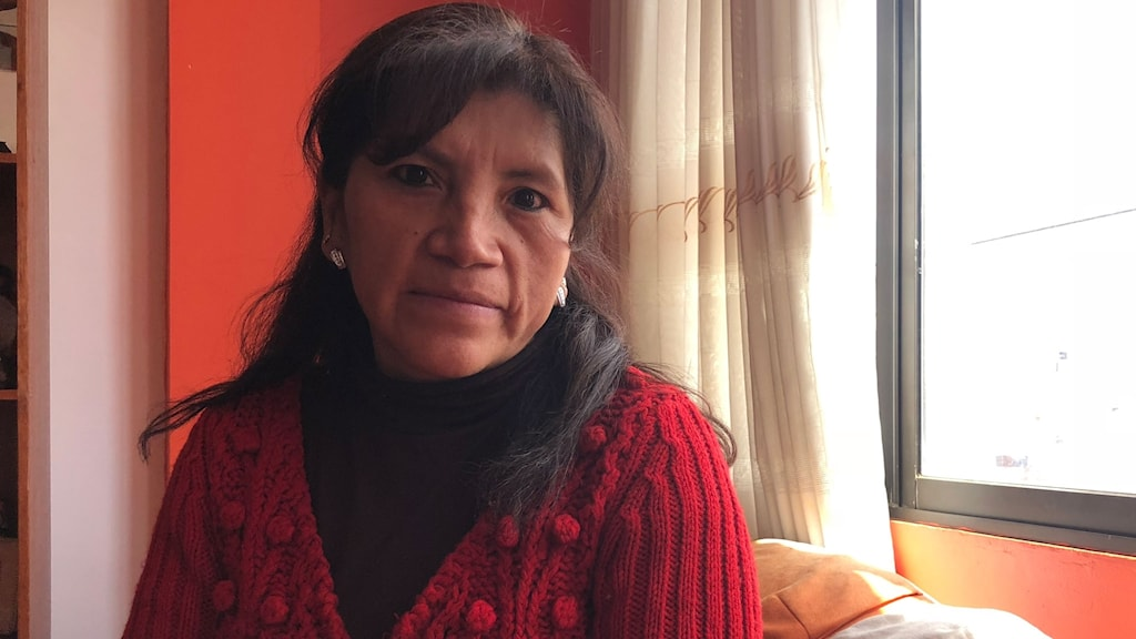 Gladys Achá är en boliviansk kvinnorättsaktivist. Hon hjälper kvinnor som gjort illegala aborter.