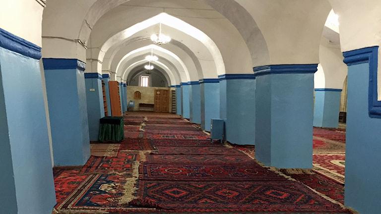 Juma äldsta moskén i Ryssland är centrum för shiiter. Foto: Maria Persson Löfgren/Sveriges Radio.