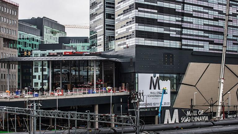 Mall of Scandinavia. Foto: : Yvonne Åsell/TT.