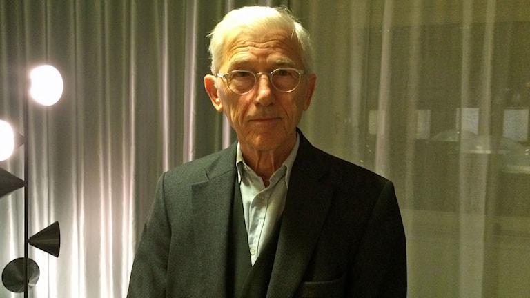 Theodor Kalifatides. Foto: Helena Ulander/Sveriges Radio.