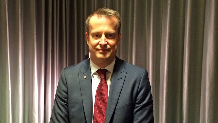 Inrikesminister Anders Ygeman. Foto: Helena Ulander/Sveriges Radio.