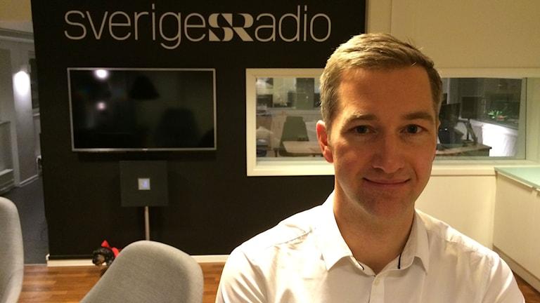 Olle Zachrison blir ny Ekochef. Foto: Anders Diamant/Sveriges Radio