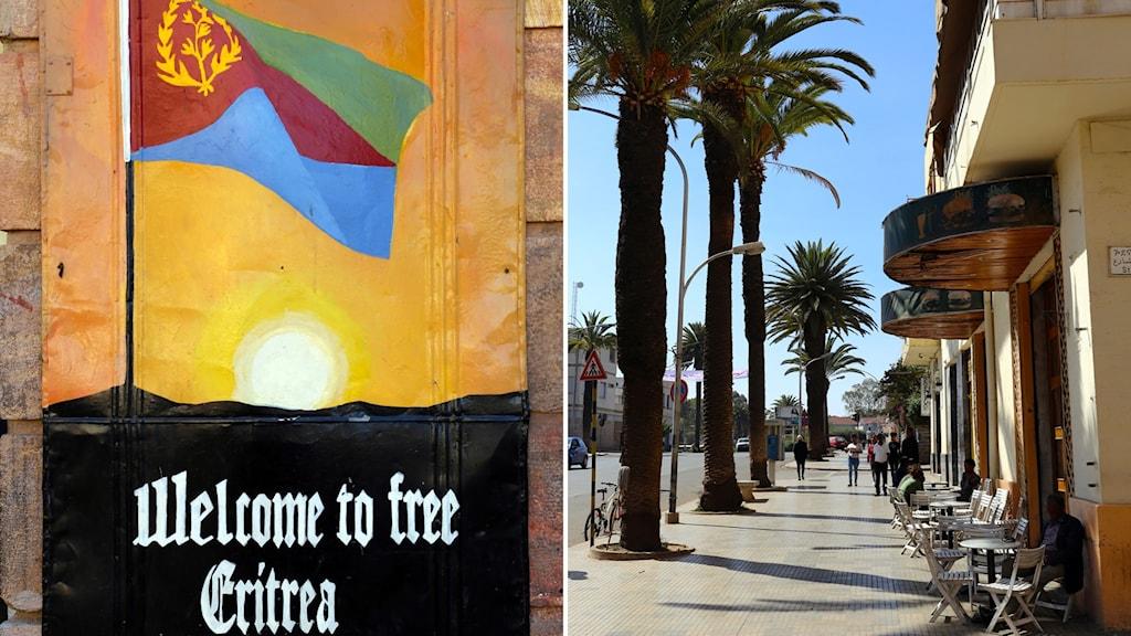 Bilder från Asmara, Eritreas huvudstad.