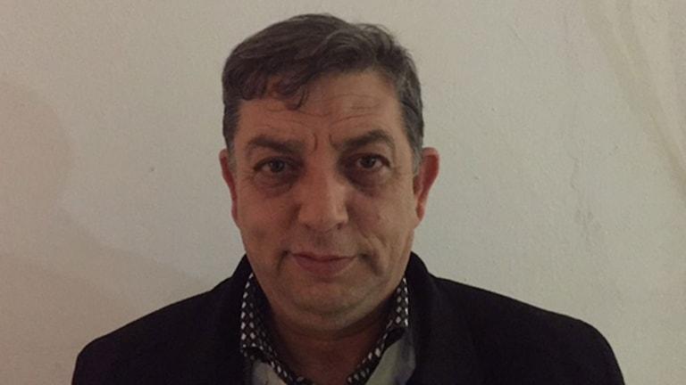 Alaya Allani, terrorexpert Tunisien. Foto: Johan-Mathias Sommarström/Sveriges Radio.