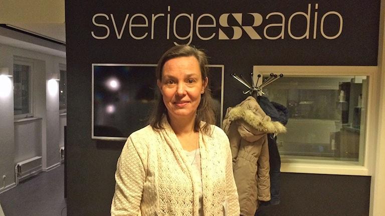 Anna Nergårdh, chefläkare Stockholms läns landsting. Foto: Helena Ulander/Sveriges Radio.