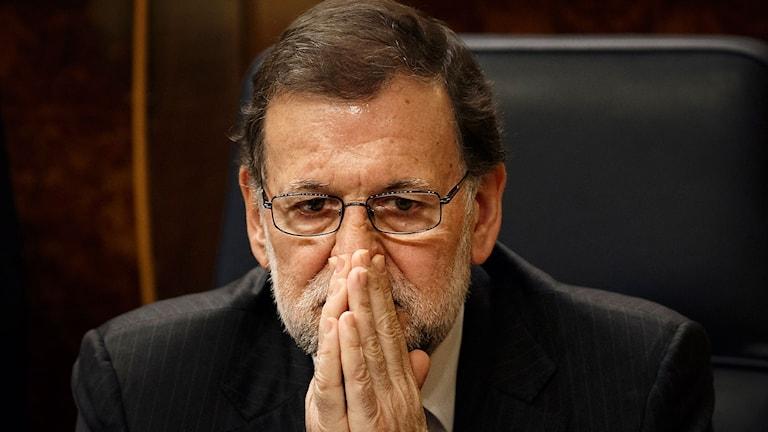 Spaniens premiärminister Mariano Rajoy. Foto: Daniel Ochoa de Olza/TT