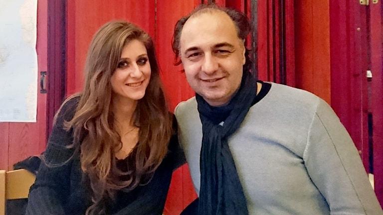 Zeina Bayyad och Ramzi Hanna.