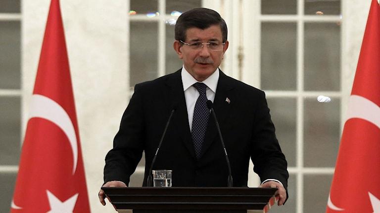 Ahmet Davutoglu, premiärminister Turkiet.