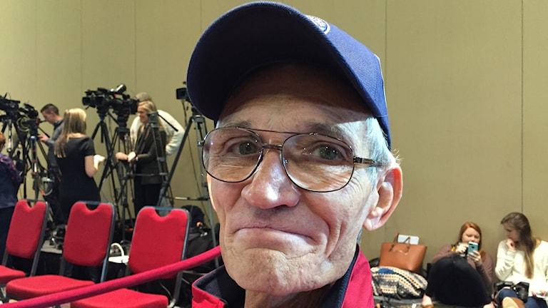 William Rifo är pensionerad polis och tycker det är viktigt att USAs nästa president satsar på försvar och militär.