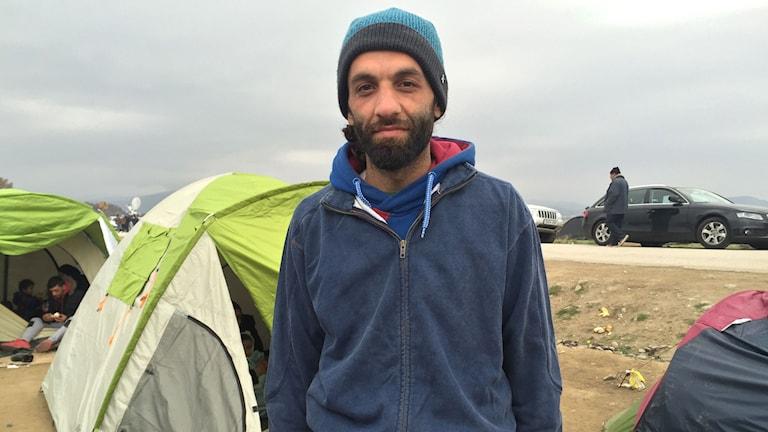 Josef från Aleppo var i Grekland första gången som turist, nu är han här som flykting