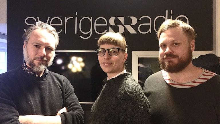 Tommie Jönsson, Maja Åstrand och Johannes Klenell, trion bakom Lundellbunkern