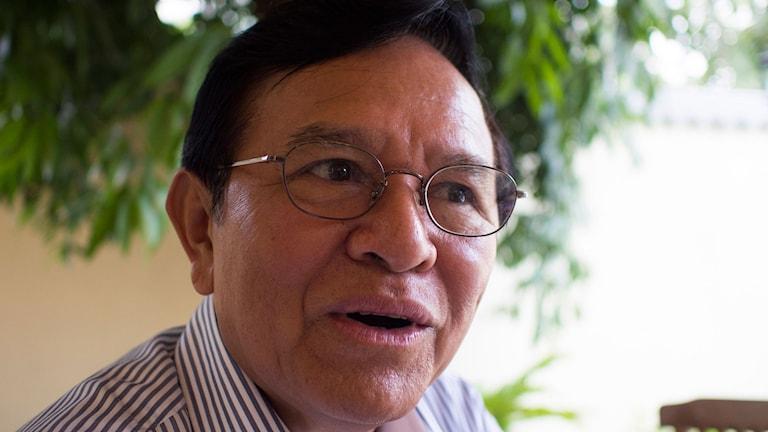 Oppositionsledaren Kem Sokha oroar sig för risken att en politisk övergång i Kambodja kan bli våldsam.