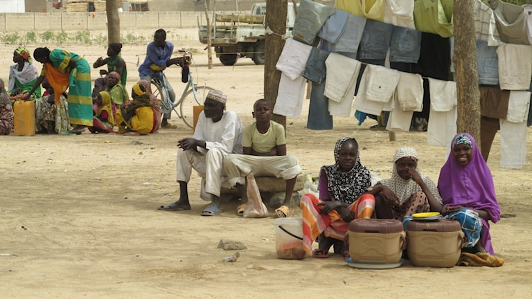 Marknaden i Kerawa är inte mycket att tala om. Men bara det att den kan hållas ses som en framgång och kanske på att terrorgruppen Boko Haram har försvagats.