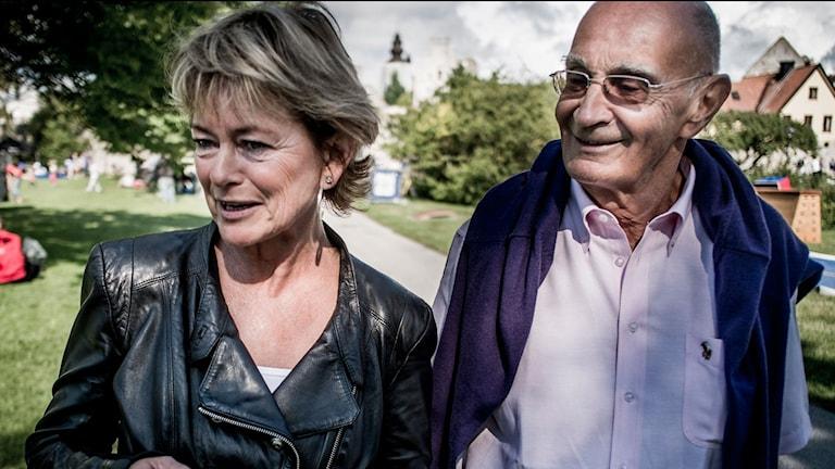 Lena Adelsohn Liljeroth och Ulf Adelsohn