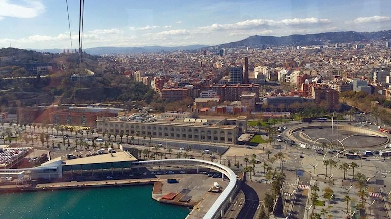 Separatisterna vill ha mer makt över hamnen i Barcelona