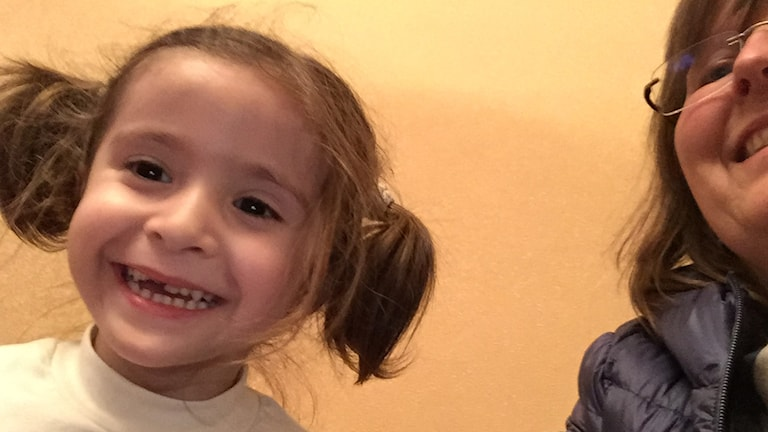 Fyraåriga Liza Mutalijeva