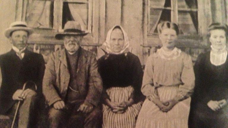 En 110 år gammal bild som finns bevarad. Kommer våra digitala bilder finnas kvar så länge? Foto: Privat